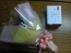 花束と記念品